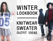 WINTER LOOKBOOK - knitwear cover