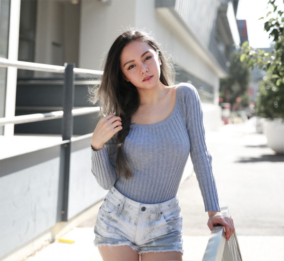 Ribbed - Chloe Ting - Melbourne Australia Fashion Blogger
